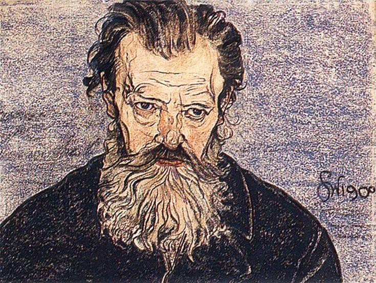 The Athenaeum - Portrait of the Artist's Father (Stanislaw Wyspianski - )