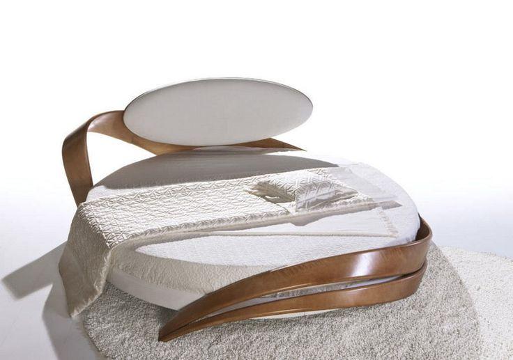 ber ideen zu runde betten auf pinterest betten. Black Bedroom Furniture Sets. Home Design Ideas