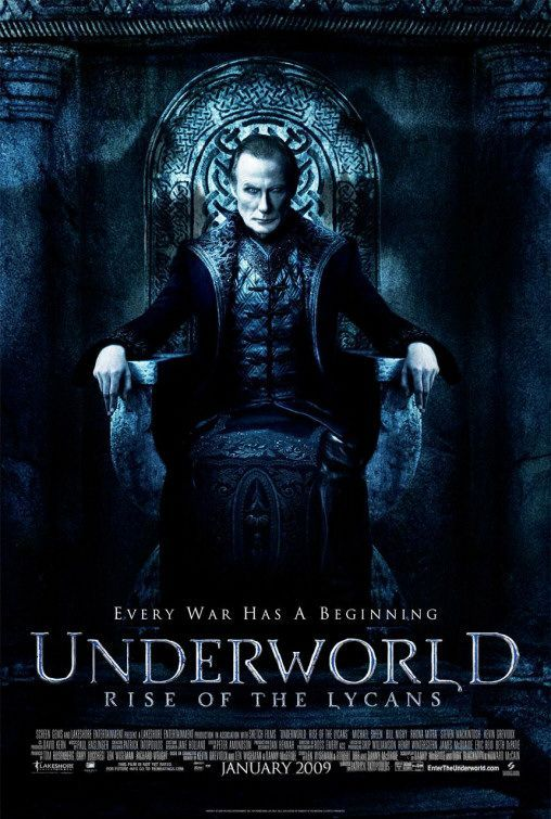 Underworld: Rise of the Lycans Movie Poster - Internet Movie Poster Awards Gallery