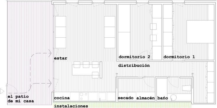 166 viviendas de protecci n oficial en vitoria gasteiz housing plan oficial arquitectura - Casas de proteccion oficial ...