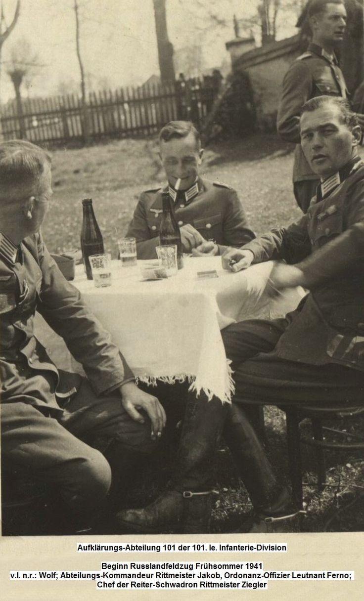 NAZI Jerman: Albumin Foto 101 leichte Infanterie-Division / 101. Jäger-Division