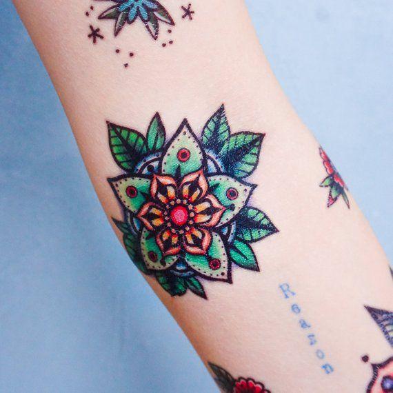 Old School tattoo Stickers New School tattoos Pop Color tattoos Watercolor tattoos Neon tattoos Cat
