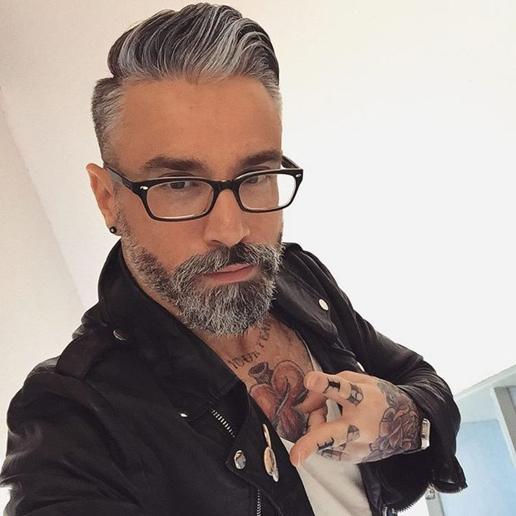 "⚓️ A L E S S A N D R Ø on Instagram: ""Bonjour Beautiful People ⚡️⚓️ @tattooselection @billionairebeardgang @bunandbeardmen @mansmark_ @majestic_beards @oh_my_bearded_man #tagsforlikes #instalike #pictureoftheday #style #fashion #ootd #instatattoo #instaart #sleevetattoo #tattoolookbook #chesttattoo #handtattoo #tattoo #tattooart #tattooed #ink #inked #silverfox #beard #bearded #beardedlifestyle #tatsnbeard #ntnc #hifiveclique #duisburg #dortmund #nürnberg #düsseldorf #stuttgart #köln"""