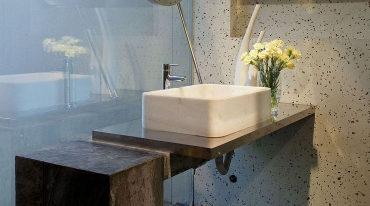 Beton Banyo Lavaboları İle Farklı Dekorasyonlar - http://www.dekorvedekor.net/beton-banyo-lavabolari-ile-farkli-dekorasyonlar/