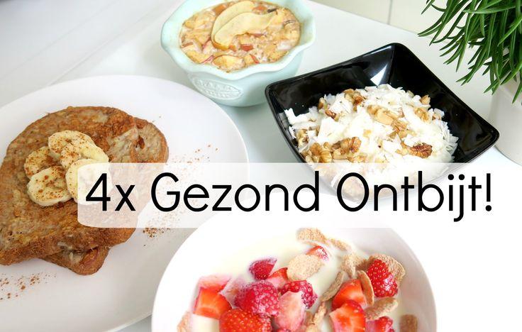 4 Recepten voor een Gezond Ontbijt - o.a. Havermout uit de Oven!