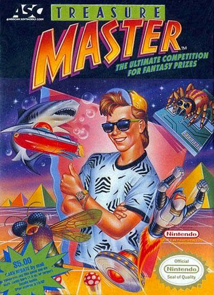 Weird 80s Video Game Cover