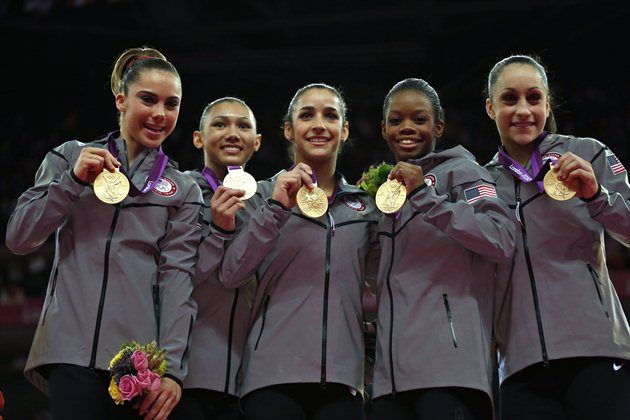 'Fab Five' gymnasts win the GOLD!: Summer Olympics, London 2012, Woman Gymnastics Th, Gymnastics Th Fab, Olympics 2012, London Olympics, Random Pin, Team Usa, Gymnasticsth Fab