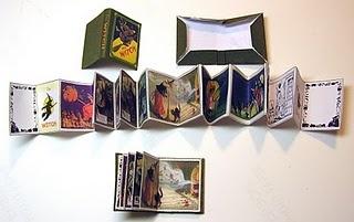 Miniature Halloween Book Template