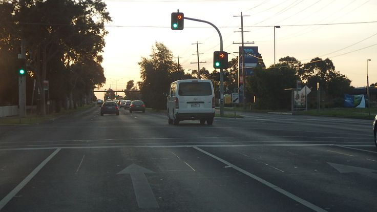 Ballarat rd Darnley st crossing Braybrook Masters on right side 7.10.2014
