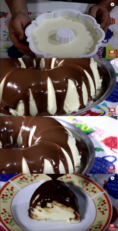 Pudim De Leite Ninho Com Chocolate Pudim De Leite Ninho Ideias