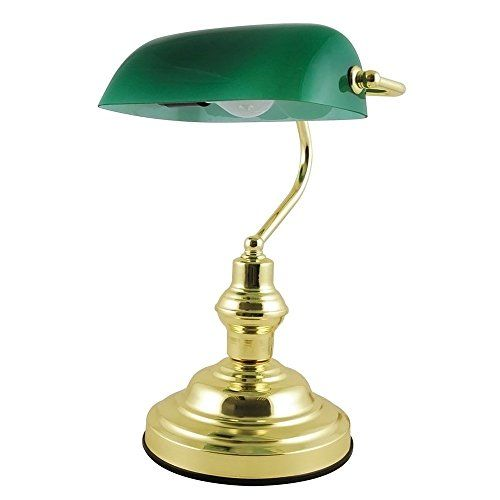 320 kr. ARSUK 15'' 45w Advocate Classic Bankers Lamp with Glass Shade and Brass Base ARSUK http://www.amazon.co.uk/dp/B01BZNVM9S/ref=cm_sw_r_pi_dp_HjY3wb0RX7KJ9