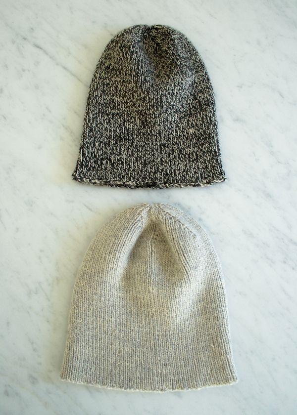 Purl Bee: The Boyfriend Hat / free pattern