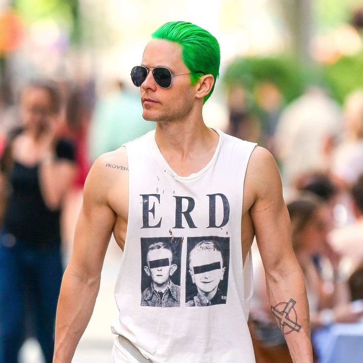 Jared Leto's Green Hair Tests the Limits of Our Love