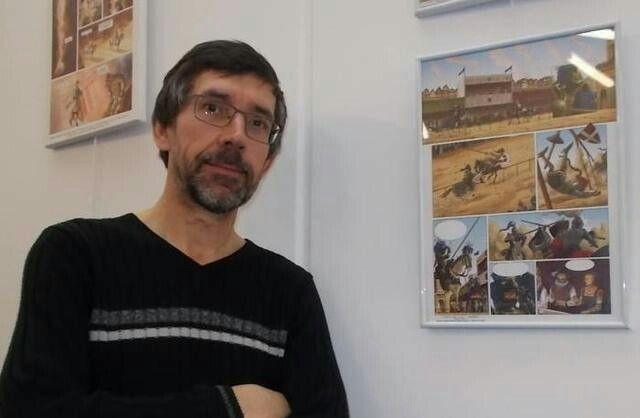 Expo d'Éric Albert à la mjcs La Châtre - Indre Berry - source nr36