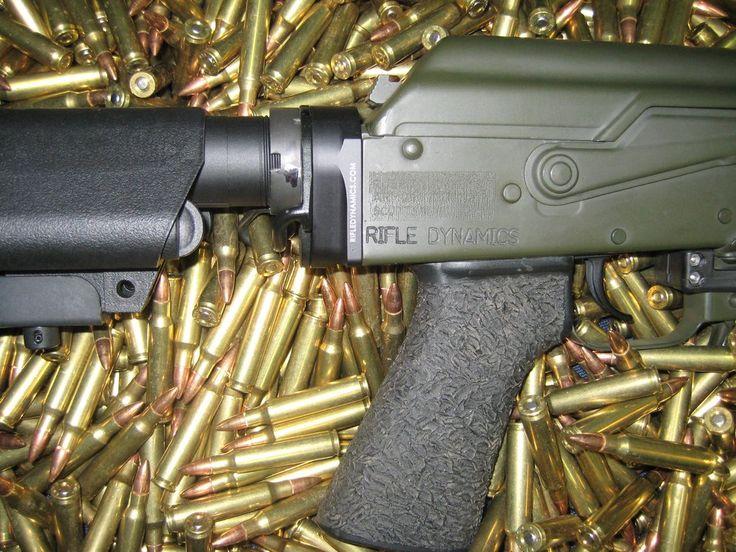 AK to M-4 Stock Adapter by Rifle Dynamics | Rifle Dynamics