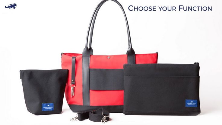 Customized travel bags: The Sazerac Tote, Choose your Function