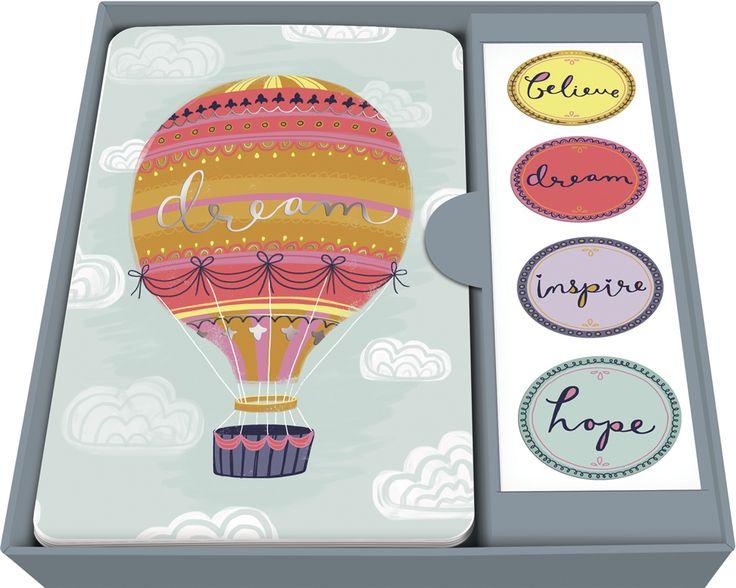 Believe! Dream! Inspire! Note Card Set