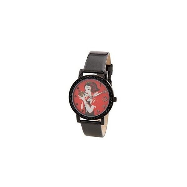 Disney Snow White Watch for Women ❤ liked on Polyvore featuring jewelry, watches, disney, disney jewellery, disney watches and disney jewelry