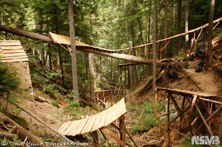 mtb vancouver north shore features | Northshore done properly