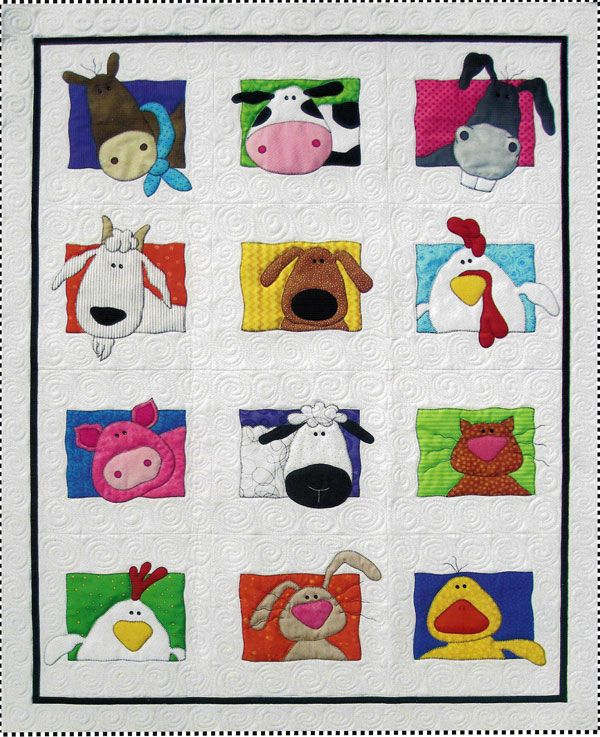 Animal Whimsy - Quilting by the Bay in Panama City, Florida featuring Quilting Fabric, Quilt Books, Quilt Patterns and Quilt supplies