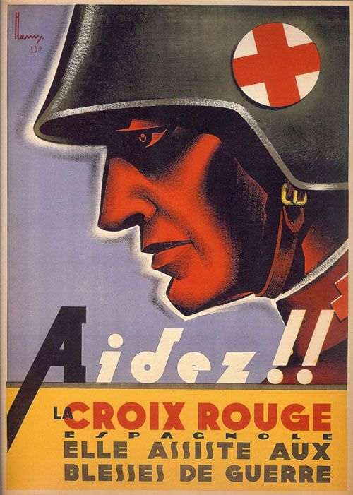 Henry Ballesteros. 1936. 100x76. Barcelona. Cruz Roja