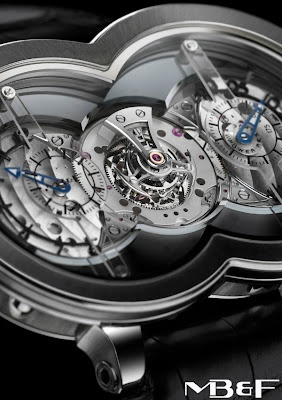 Watchismo Times: MB introduces Limited Edition Titanium Horological Machine No.1 - The HM1 Ti