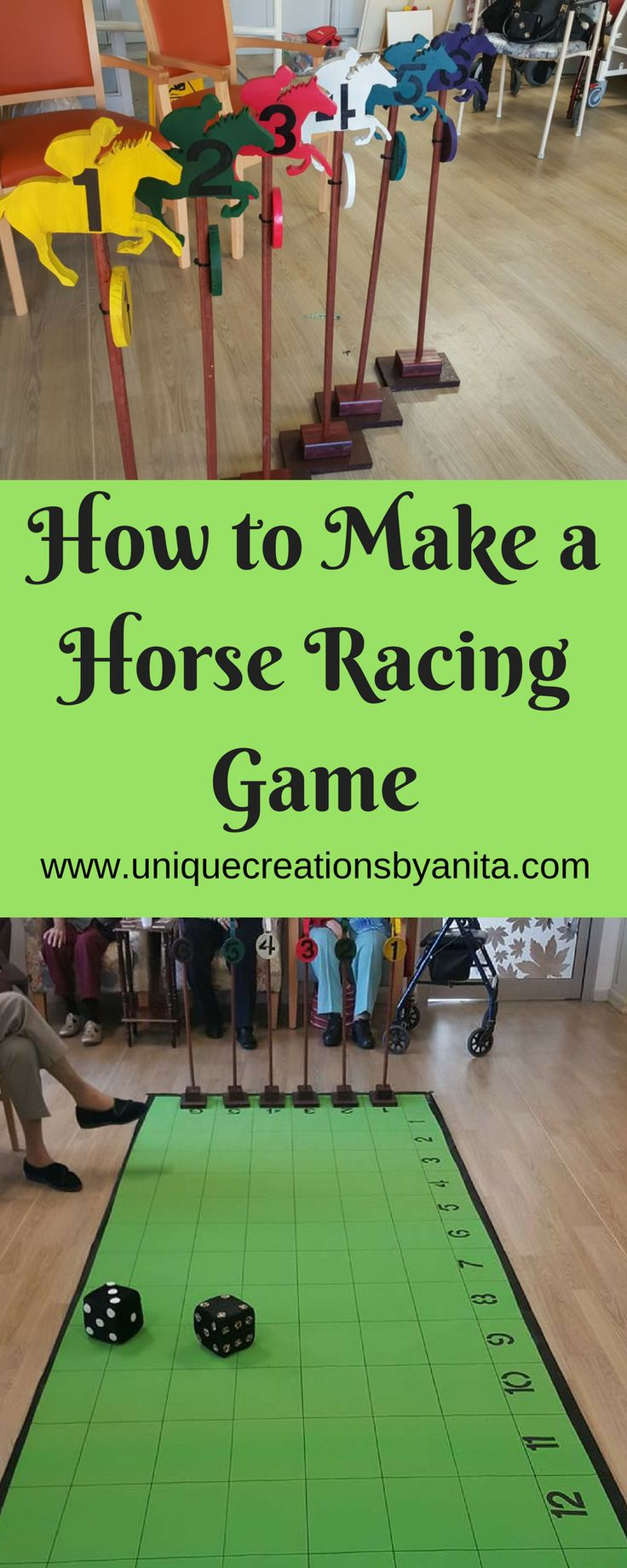 How to make a Horse Racing Game – Unique Creations By Anita