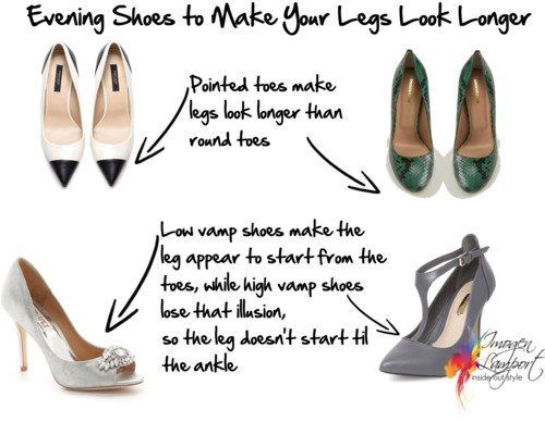How to choose Evening Shoes for Short Legs or if you're petite