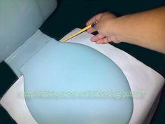 Tutorial Como hacer un juego de baño (Como hacer los Moldes para la Tapa del WC)
