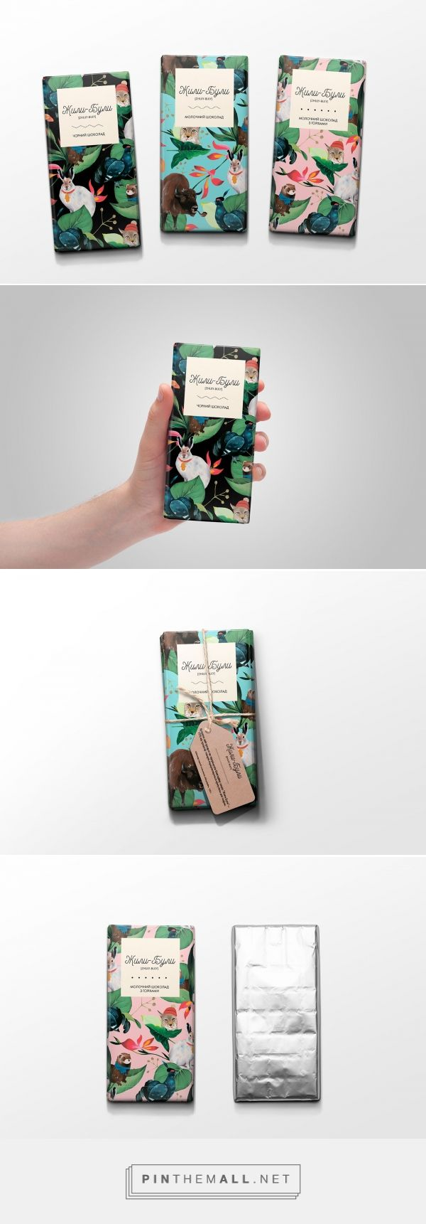 Zhuli-Buli Chocolate by Inna Voevodina. Source: Behance. Pin curated by #SFields99 #packaging #design