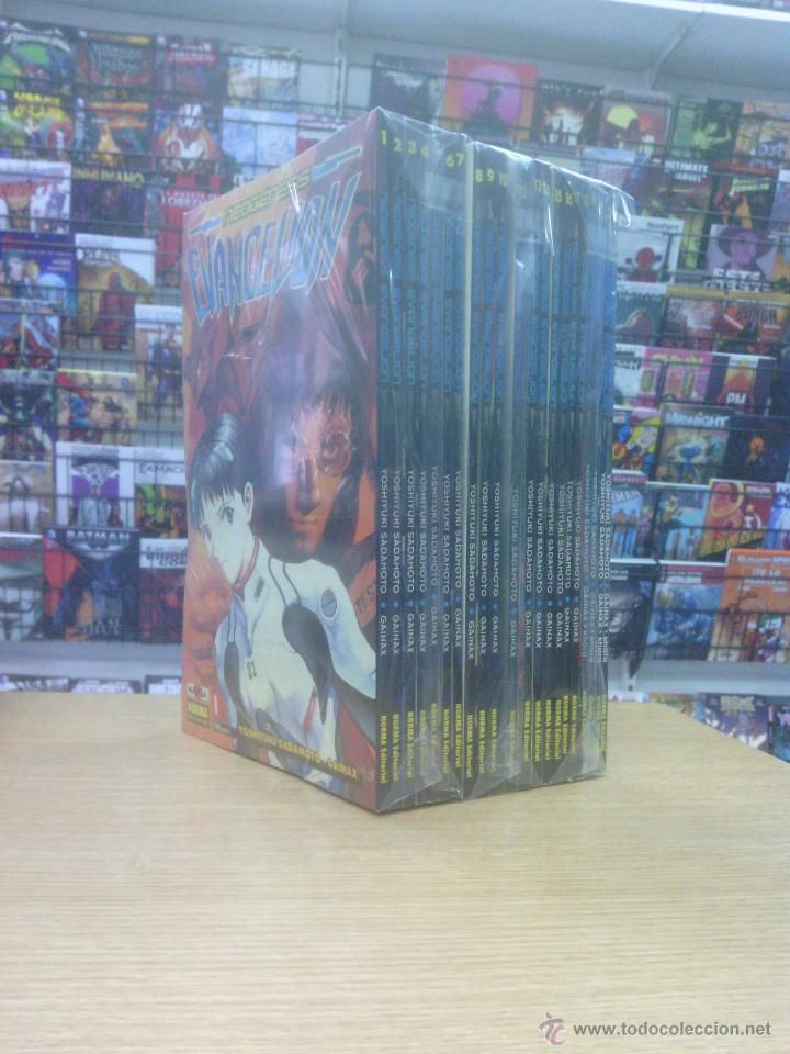 NEOGENESIS EVANGELION COLECCION COMPLETA (22 TOMOS COMIC BOOK) $100