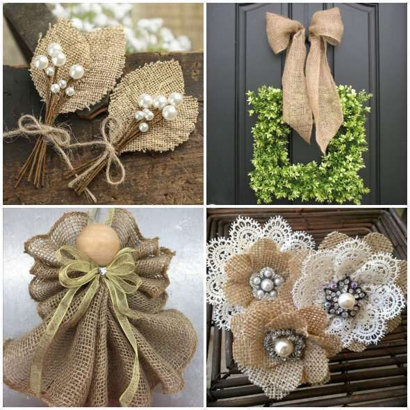 Cheap Diy Jute Decoration And Ornaments For Christmas Christmas Ornament Crafts Burlap Christmas Decorations Burlap Crafts