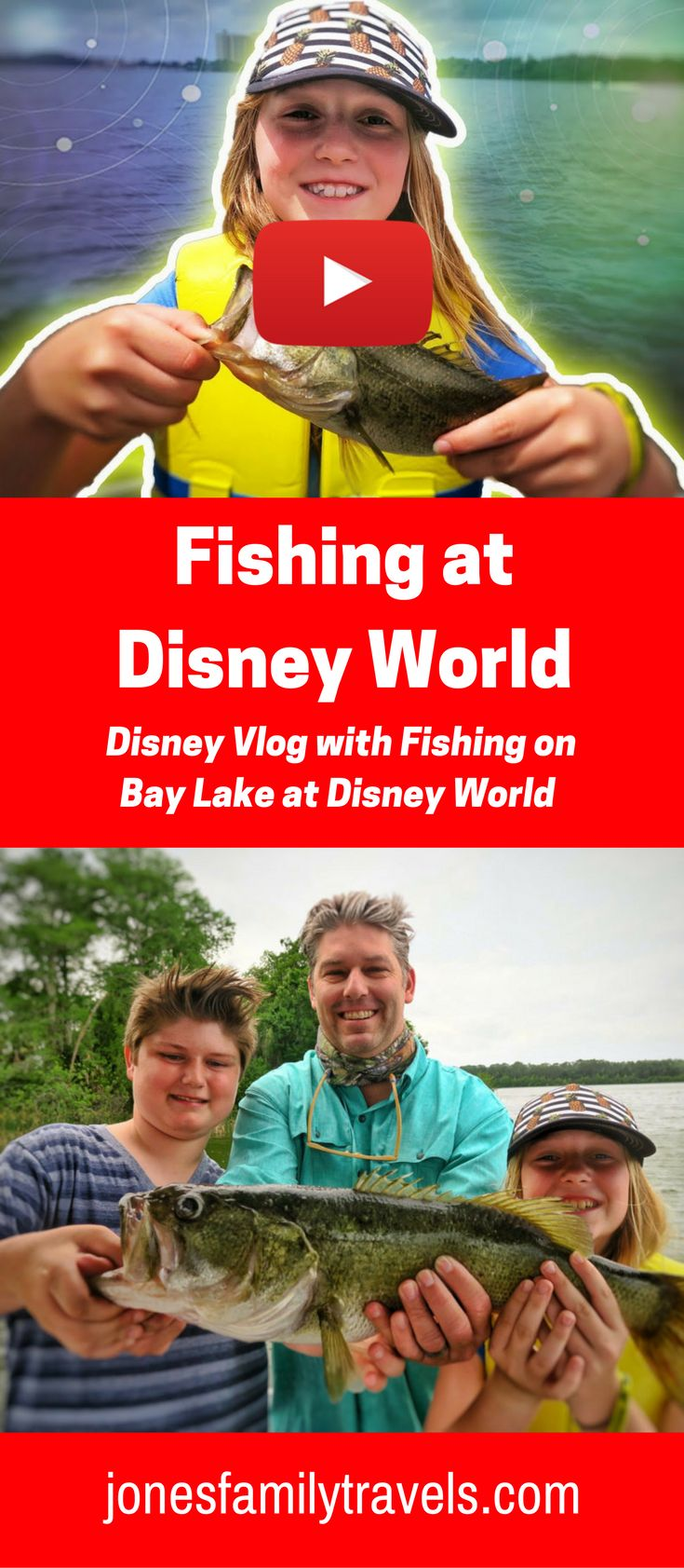 Day of fishing at #Disney at Bay Lake near Disney's Contemporary Resort.  #disneyworld