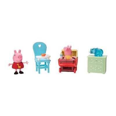 Peppa Pig Little Rooms Peppa And Baby Alexander Peppa