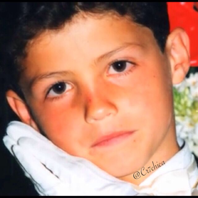 Young Cristiano Ronaldo