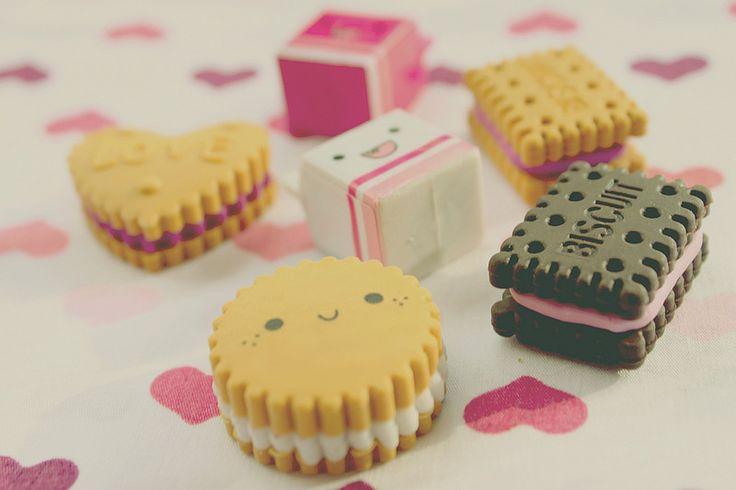 Smiggle Kawaii Erasers