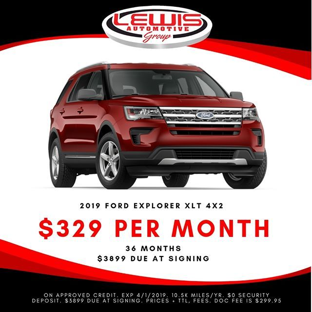 Lease A New Ford Explorer For 329 Month From Lewis Ford Fordexplorer Fordtruckmonth L New Ford Explorer 2019 Ford Explorer Ford Explorer Xlt