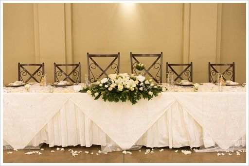 Head Table Decorations Wedding Reception Wedding Dress: 17 Best Images About Bridal Party Table Decorations On
