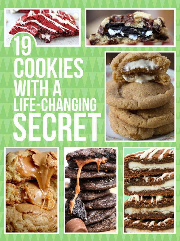 19 Cookies With A Life-Changing Secret I couldn't choose just one!