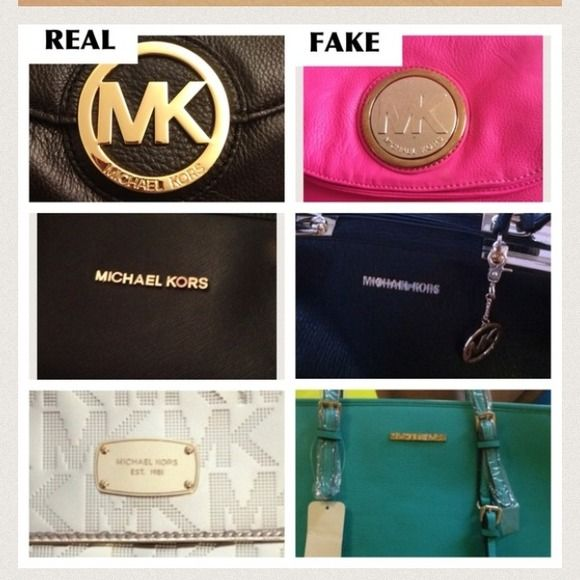 How To Spot A Fake Mk Bag Item Other Michael O Keefe