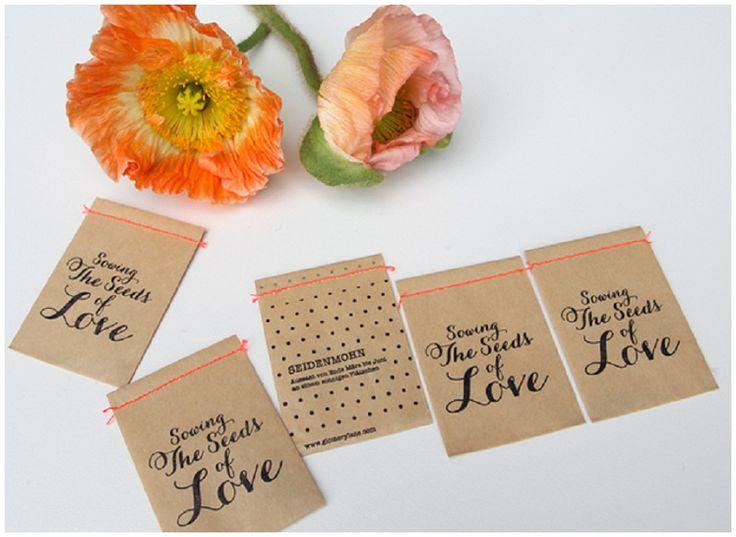 Fundstück der Woche #8: Blumensamen als Gastgeschenk   Hochzeitsblog - The Little Wedding Corner