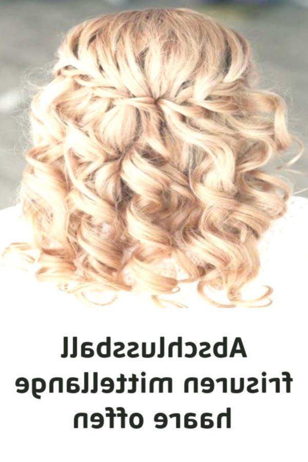 Abschlussball Frisuren Mittellange Haare Offen Abschlussball