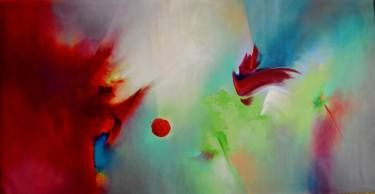 "Saatchi Art Artist Elena Vijoli; Painting, ""Flying instincts"" #art"
