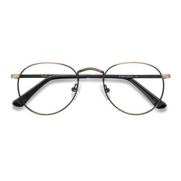 Men's Pensive - Bronze round metal - 18921 Bronze Rx Eyeglasses ($29) ❤ liked on Polyvore featuring men's fashion, men's accessories, men's eyewear, men's eyeglasses, mens eyewear, mens round eyeglasses and mens eyeglasses