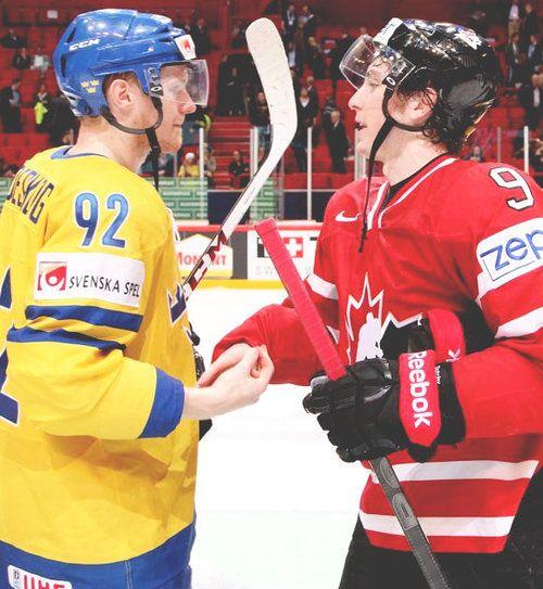 2013 IIHF World Championships: Gabriel Landeskog and Matt Duchene