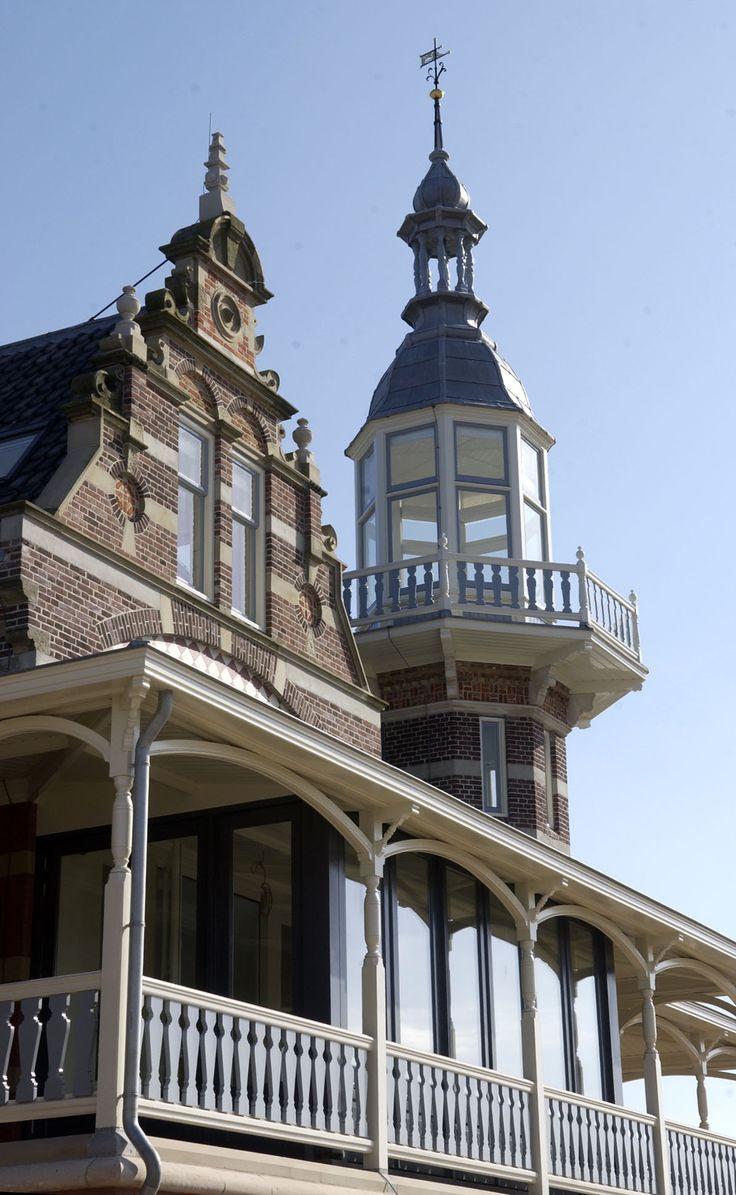 J.J. van Niekerken, Badpaviljoen Domburg, Zeeland.