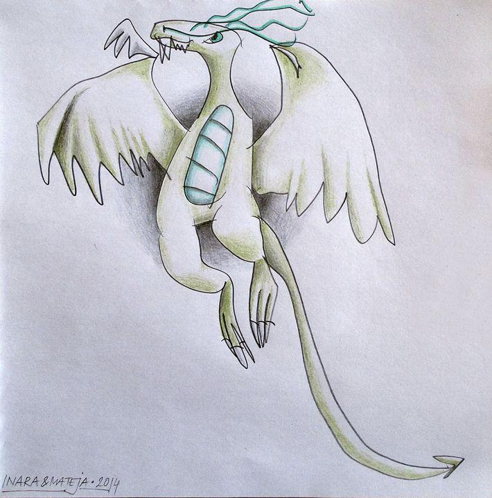 Dragon - Ninjago by Mateja and Inara Horvat Ekberg, via Behance
