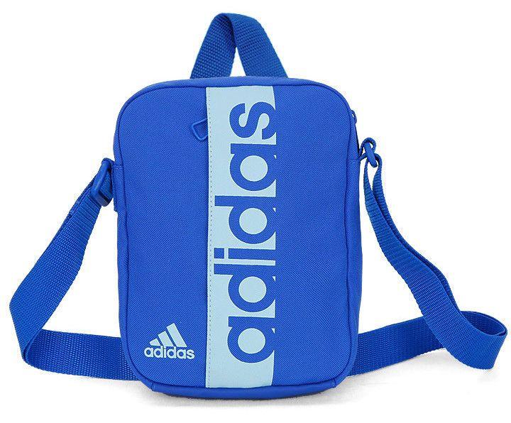 00ad8b4bb9 adidas Linear Performance Organizer Graphic Bag Belt Sport Gym Yoga Blue  CF5009  adidas  MessengerShoulderBag