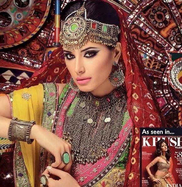 Afghan Model http://www.zarinas.com/