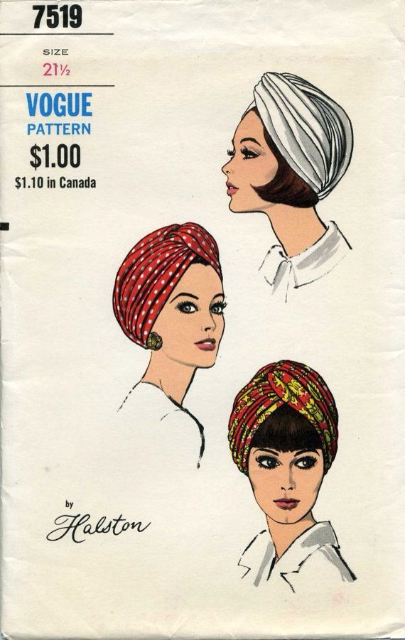 #Vintage stile #turbante by #atelier #bualá Fbk: bualádesign